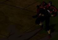 Cuatrobrazos agarra a Rex