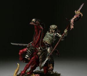 Predator-horse