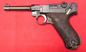 DWM 4 inch Navy Luger 859