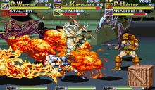 AvP arcade gameplay