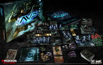 The Boxed Game AvP – The Hunt Begins Set