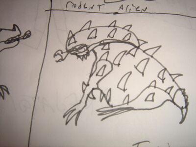Toad alien