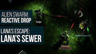 Alien Swarm Reactive Drop (PC) - Lana's Escape Lana's Sewer Gameplay Playthrough