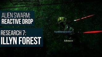 Alien Swarm Reactive Drop (PC) - Research 7 Illyn Forest Gameplay Playthrough