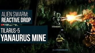 Alien Swarm Reactive Drop (PC) - Tilarus-5 Yanaurus Mine Gameplay Playthrough