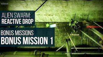 Alien Swarm Reactive Drop (PC) - Bonus Mission 1 Gameplay Playthrough