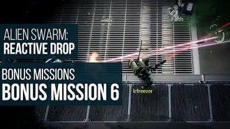 Alien Swarm Reactive Drop (PC) - Bonus Mission 6 Gameplay Playthrough
