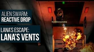 Alien Swarm Reactive Drop (PC) - Lana's Escape Lana's Vents Gameplay Playthrough
