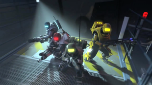 Alien Swarm marines from Valve's trailer