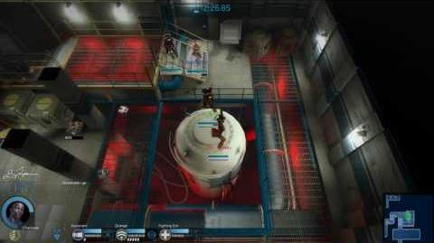 Alien Swarm Reactive Drop - Landing Zone Vegas Gameplay (4 players)