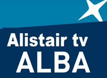 Alistair tv alba logo