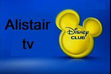 Disney club on Alistair tv