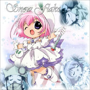 Tiny snow fairy sugar by matchingso