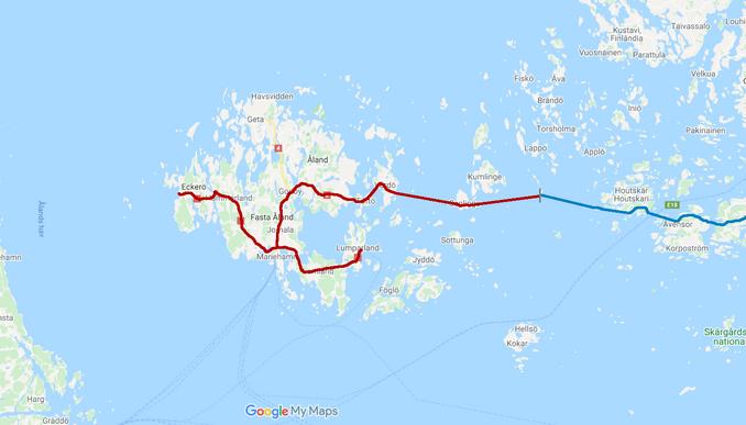 Aland Islands Highways