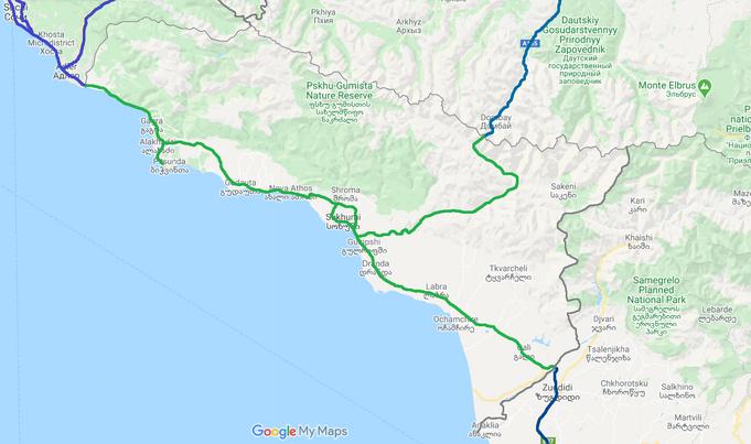 Abkhazia Highways-2