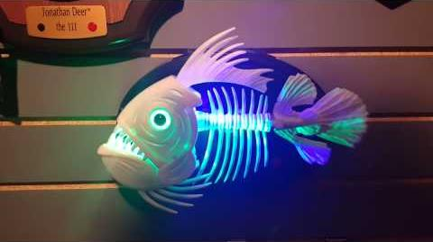 Singing Zombie Skeleton Fish