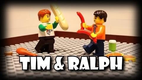 Tim and Ralph Food Fight
