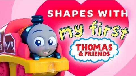Learn Shapes for Toddlers with Thomas My First Railways Playing Around with Thomas & Friends