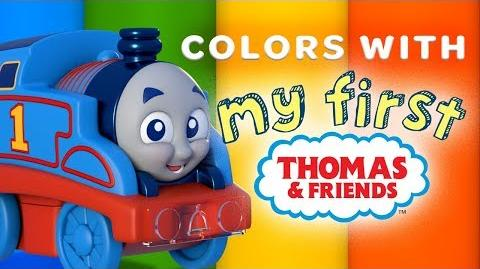 Learn Colors for Children with Thomas My First Railways Playing Around with Thomas & Friends