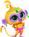 Tala Monkey from Shimmer and Shine