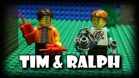 Tim and Ralph Pie Time