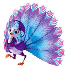 Shimmer and Shine Roya the Peacock Character