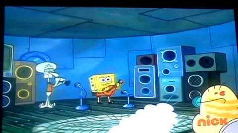 Sponge bob, too loud