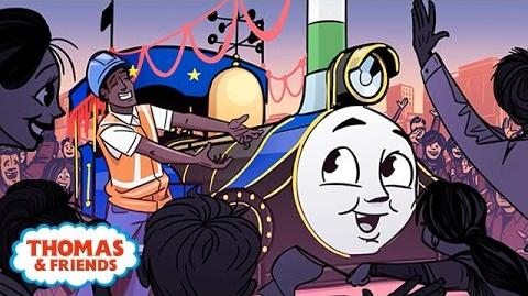 Rajiv The Best Decorated Engine - Great Race Friends Near and Far - Thomas & Friends