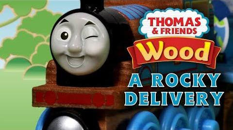 Video Rocky Delivery Thomas And Friends Wooden Railways Playing