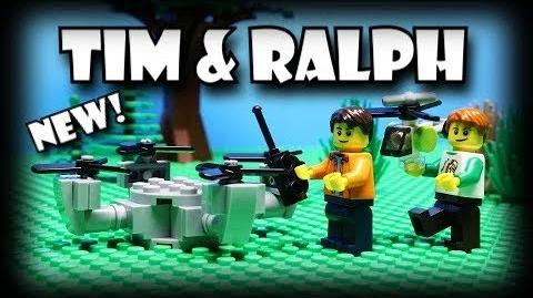 Tim and Ralph- Lego Drone