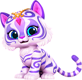 Nahal Tiger from Shimmer and Shine