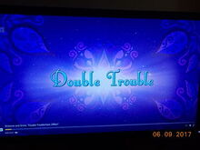 Double Trouble title card
