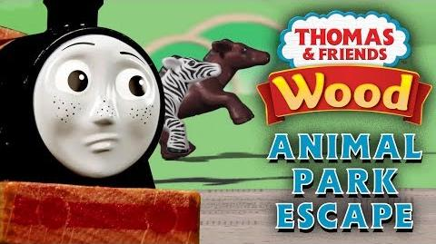 Animal Park Escape! - Playing Around with Thomas and Friends - Thomas & Friends