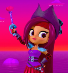 Shimmer and Shine Zora the Pirate Captain