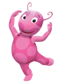 The Backyardigans Uniqua Nickelodeon Nick Jr. Character Image 1
