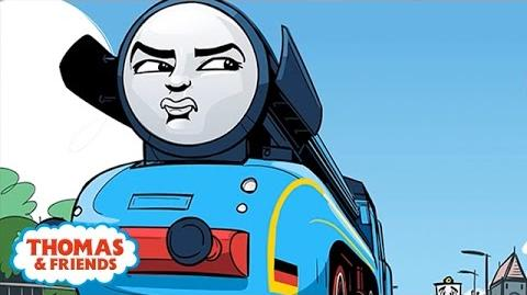 Frieda The Grumpiest Engine - Great Race Friends Near and Far - Thomas & Friends