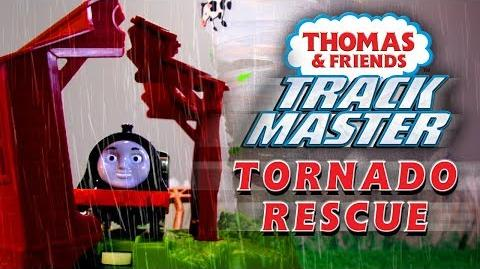 Tornado Rescue Thomas & Friends TrackMaster - Playing Around with Thomas and Friends