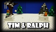 Tim and Ralph Snow Day