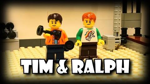Tim and Ralph- Working Out