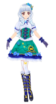 Img green butterfly tail coord