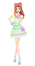 Img colorful cat coord