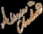 Alicia Charlotte Autograph