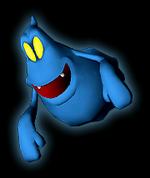 Blue Twirler