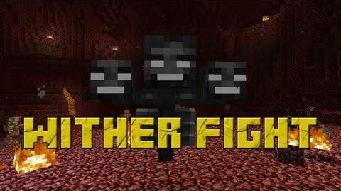 Minecraft - Wither Boss Fight! (Hard Mode!)