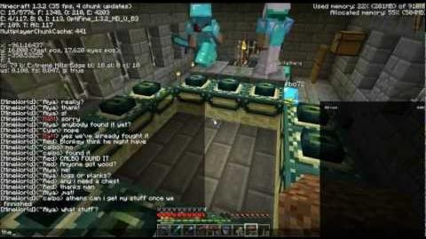 Let's Play Multiplayer Minecraft Episode 15 Boss Fight - Ender Dragon