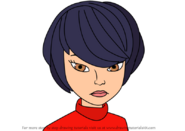 How-to-draw-Kagami-Tsurugi-from-Miraculous-Ladybug-step-0