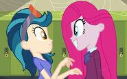 Indigo and Pinkie AU