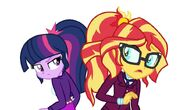 Twilight sparkle and sunset shimmer by ketrin29 d9p9r5e-fullview