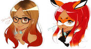 Rena Rouge and Alya