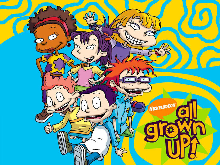 All grown up characters